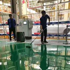 深圳金辉电子厂——环氧薄涂地板