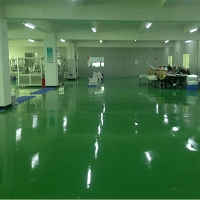 东莞童乐玩具厂——环氧自流平地板