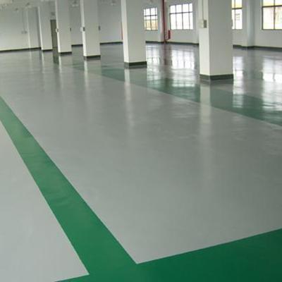 东莞大岭山鑫科电子厂——环氧防静电地板