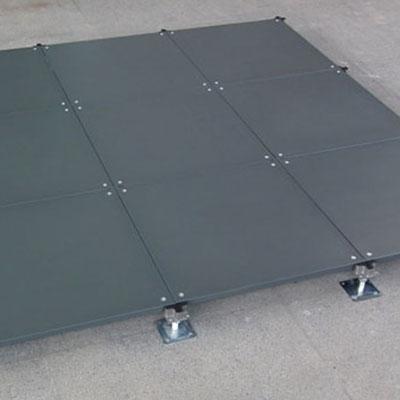 OA智能架空线槽地板