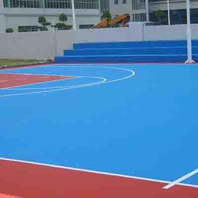 杭州丙烯酸球场地坪